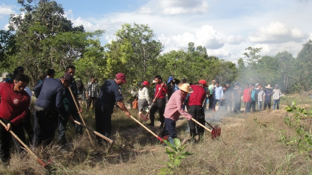 People Participation in Forest Fire Control at Ban Non Chat Community Forest Area, Dong Kheng Sub-district, Nong Song Hong District, Khon Kaen Province